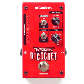 Pedal Pedaleira Digitech Harman Guitarra Whammy Ricochet