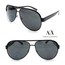 Lentes Armani Exchange Ax2013 607087 Satin Black - Dark Grey