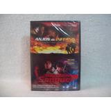 Dvd Anjos Do Inferno & Rajada De Sangue- Lacrado De Fábrica