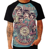Camisa The Beattles Camiseta Os Beattles Banda Rock Top Swag