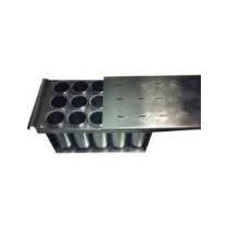 Forma Para Picole Com Centralizador Em Alumínio-15 Sorvetes