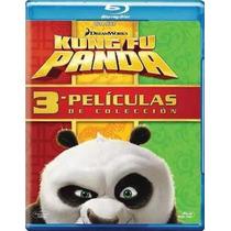 Kung Fu Panda Trilogia 3 Tres Peliculas Coleccion Blu-ray