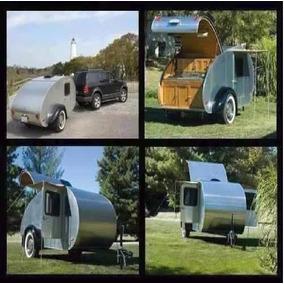Planos Construye Trailers Remolque Vagon Rodante Caravana