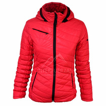 Campera Impermeable Termica Dama Inflable