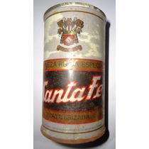 Antigua La Ta De Cerveza Santa Fe