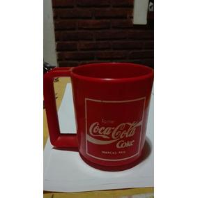 Antigua Taza De Plástico De Coca-cola.perfecta.