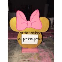 Porta Retratos De Minnie O Mickey, Pintados A Mano.