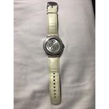 Reloj Swatch Blanco Para Mujer
