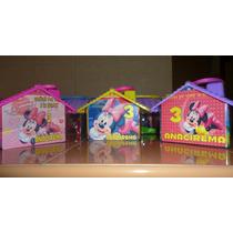 Dulceros Bolos Aguinaldos Minnie, Mimi, Mickey Bebe Disney