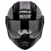 Capacete Moto Peels Mirage Splash C/ Óculos Fumê Lançamento