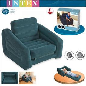 Colchao Puff Poltrona Sofa Cadeira Papai Inflável + Inflador
