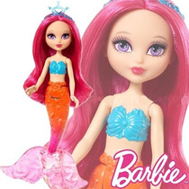 Muñeca Barbie Fairytale Mini Sirena Mattel