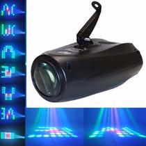 Proyector Luz Cañon Leds Audioritmico Dj Dmx Boliche Eventos
