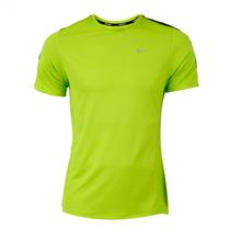 Franelas Nike Green Racer Ss 100% Original