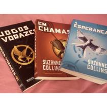 Coleção 3 Livros Jogos Vorazes, Em Chamas E Esperaça.