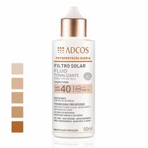 Filtro Solar Fluid Tonalizante Adcos Fps40 - Todos Os Tons