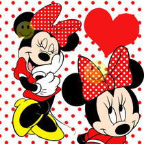 Kit Imprimible De Minnie Mouse Roja - Tarjetas - Candy Bar