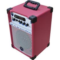 Caixa Multiuso Violão Voz Turbox Com Fm 40 Watts - Hendrix