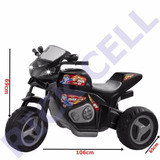 Triciclo Elétrico Infantil 6v Moto Max Turbo1430l Magic Toys