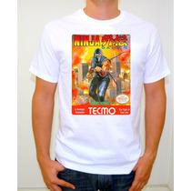 Ninja Gaiden Nes Playera Gamer Retro Vintage Nintendo