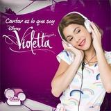 Violetta Cantar Es Lo Que Soy Cd + Dvd Novedad !! Navidad !