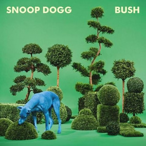 Snoop Dogg - Bush Vinilo Colo Azul Importado Nuevo