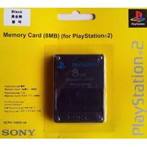 15 Memory Card Cartão Memória Ps2 Playstation 2 8mb Original