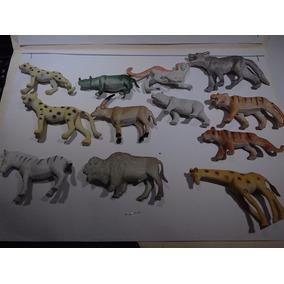 12 Animales De Selva Variados Máxima Calidad Nuevo Regalo