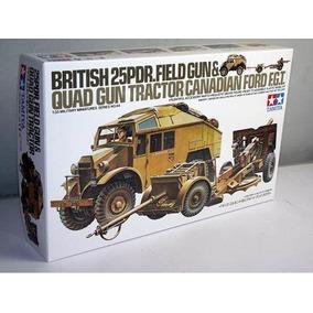 Tamiya 35044 British 25 Pounder & Quad Tractor