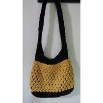 Cartera Bolso Tejida A Crochet Oferta!!!!