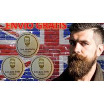3 Ceras Natural Para Barba Y Bigote Hidrata Oferta