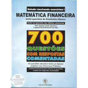 700 Questões Matemática Financeira Comentadas