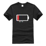 Camiseta T-shirt Estampada Bateria Off Divertidas Engraçada