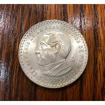 $5 Juarez Centenario De La Constitución 1957