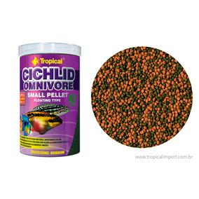 Ração Tropical Cichlid Omnivore Small Pellet 360g Promoção
