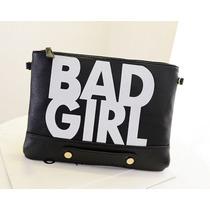 Bolsa Clutch Feminina Importada Envelope Bad Pronta Entrega