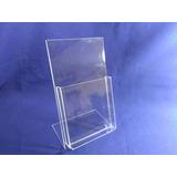 Display De Mesa Porta Folder A6 Ps Cristal Similar Acrilico