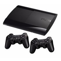 Playstation 3 Semi--novo Ps3 Super Slim Hd__250gb