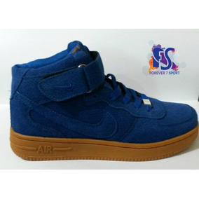 Nike Air Force One Gamusadas Corte Alto Para Unisex