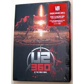 Dvd U2 360º - The Rose Bowl - Deluxe Edition Duplo Lacrado