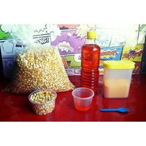 Palomitas 5k Maiz Mushroom 1lt Aceite Louana 1k Sal Flavacol