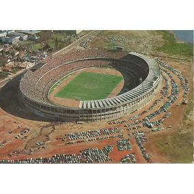Cartão Postal Do Estadio Beira Rio Em 1969
