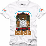 Camiseta Camisa Blusa Personalizada Thomas And Friends Toby