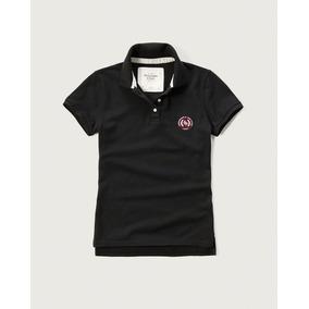 Camisa Feminina Polo Abercrombie & Fitch Original