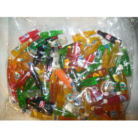 Gcg 1 Bolsa Botellitas Botella Juguete Refrescos 2.5 Cm Pm0