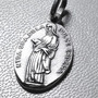 Medalla De La Virgen De La Dulce Espera