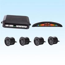 Sensor Reversa Universal 4 Puntos Display Auditivo Visual