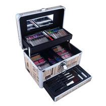 Kit Maquiagem Profissional Jasmyne V267 Maleta 63 Itens 3d