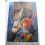 Imperdible Poster Original Dibujitos Thundercats