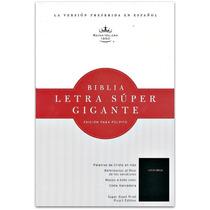 Biblia Letra Super Gigante Edicion Púlpito Tapa Acolchada